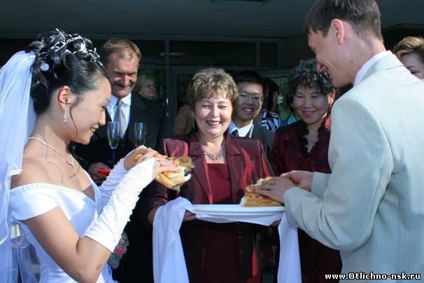 Поздравление родителей на свадьбе с хлебом и  619